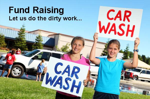 Fundraising Scrubadub Car Wash
